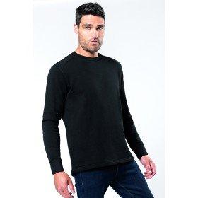 Sweat-Shirt Manches Montées
