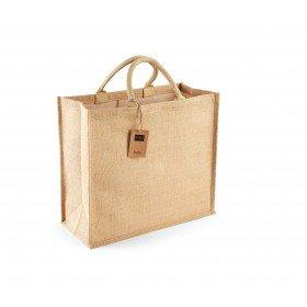 Grand sac shopping en toile de jute