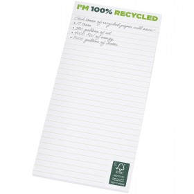 Bloc-notes 1/3 A4 recyclé Desk-Mate®