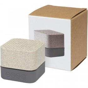 Haut-parleur Bluetooth® Aira en paille de blé