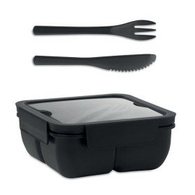 Lunch Box Avec Couverts 600Ml Saturday