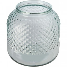Porte-bougie Estar en verre recyclé