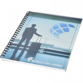 Cahier Desk-Mate® A5 à spirale avec couverture polypropylène
