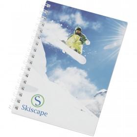 Cahier Desk-Mate® à spirales A6 avec couverture PP