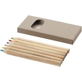 Set de 6 crayons de couleur Ayola
