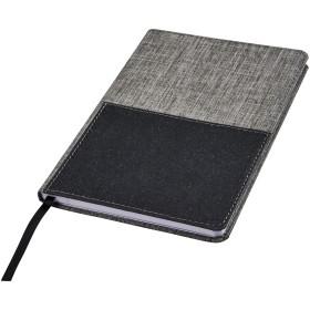 Cahier de référence A5 en RPET avec poche frontale Mera