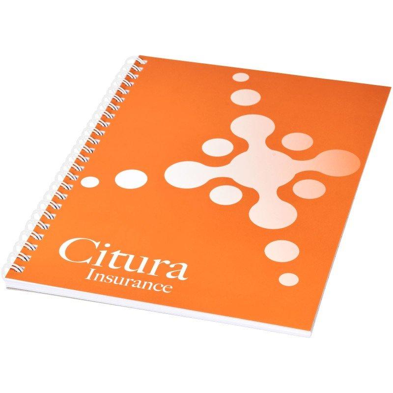 Cahier Desk-Mate® à spirales A4 avec couverture PP