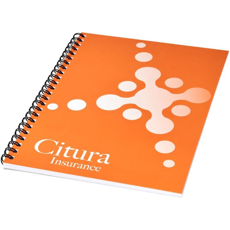 Cahier Desk-Mate® à spirales A5 avec couverture PP