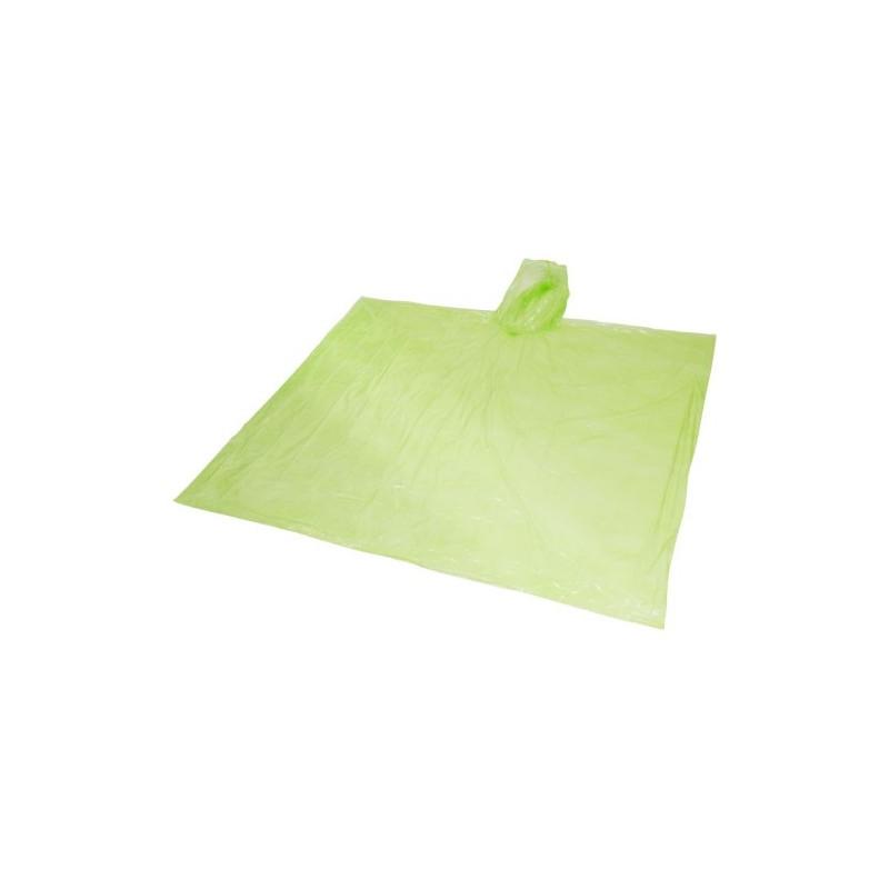 Poncho jetable pour la pluie avec pochette de rangement Ziva