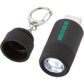 Mini lampe avec chargeur USB et porte-clés Avior