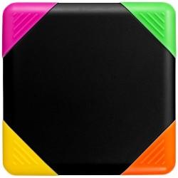 Surligneur carré 4 couleurs Trafalgar