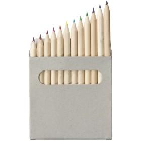 Set de crayons de couleur 12 pièces Tallin