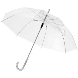 """Parapluie 23"""" transparent à ouverture automatique Kate"""