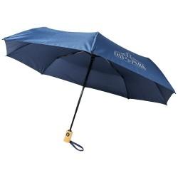 """Parapluie en PET recyclé pliable 21"""" à ouverture/fermeture a"""