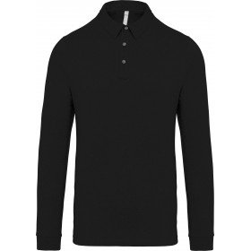 Polo jersey manches longues homme