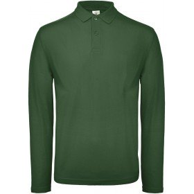 Polo homme ID.001 manches longues