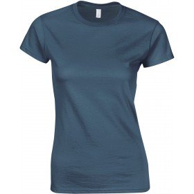 T-SHIRT FEMME COL ROND SOFTSTYLE