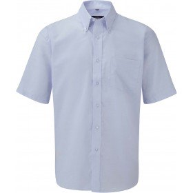 CHEMISE HOMME MANCHES COURTES OXFORD