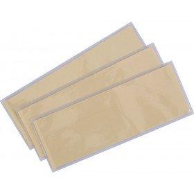 Poches d'identité thermocollantes (1 unité = pack de 50)