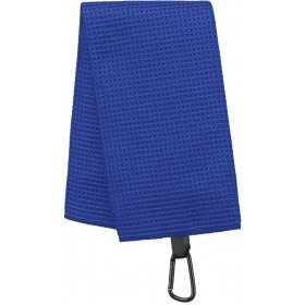 Serviette de golf nid d'abeille