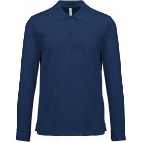 Polo manches longues Cool Plus® adulte