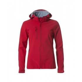Confortable Basic Hoody Softshell Femme