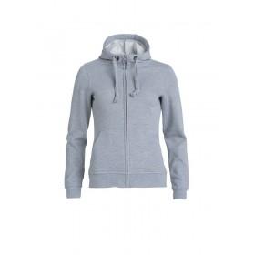 Sweatshirt Basic Hoody Full zip Femme