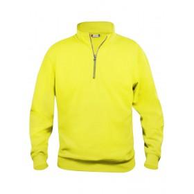 Sweatshirt Basic Half Zip Mixte