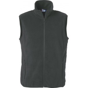Bodywarmer Basic Polar Fleece Vest Mixte