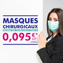 Masque chirurgicaux 3 plis