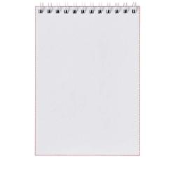 Cahier Desk-Mate® A4 à spirale avec couverture polypropylène