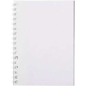 Cahier Desk-Mate® A6 à spirale avec couverture polypropylène