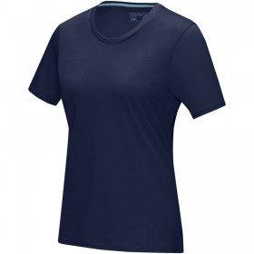 T-shirt Azurite bio GOTS manches courtes femme