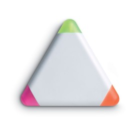 Surligneur 3 coul.triangulaire MO7818
