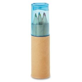 Tube de 6 crayons de couleur   MO8580